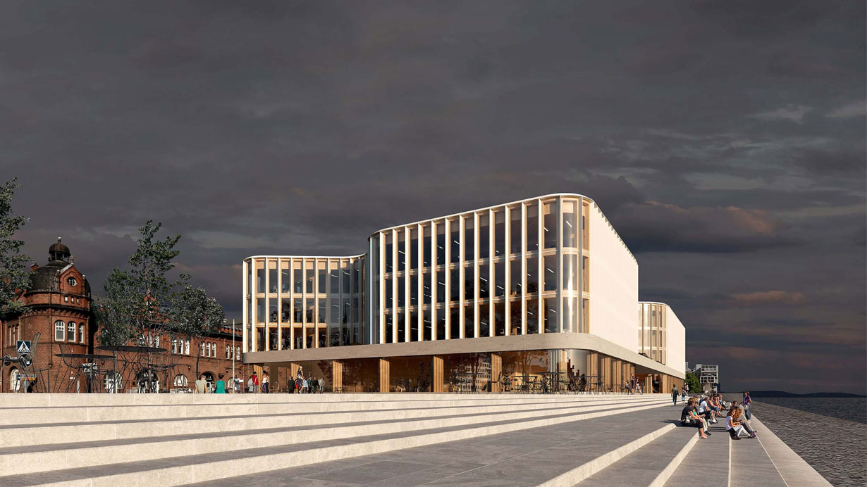 World class wooden architecture when Stora Enso Helsinki ...